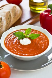 healthy tomato soup, fat burning soup