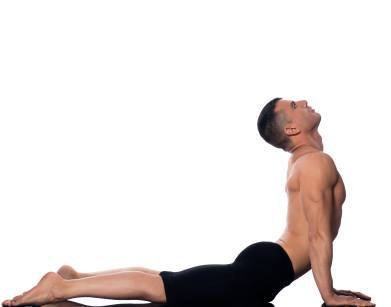 cobra-pose - fat burning yoga pose
