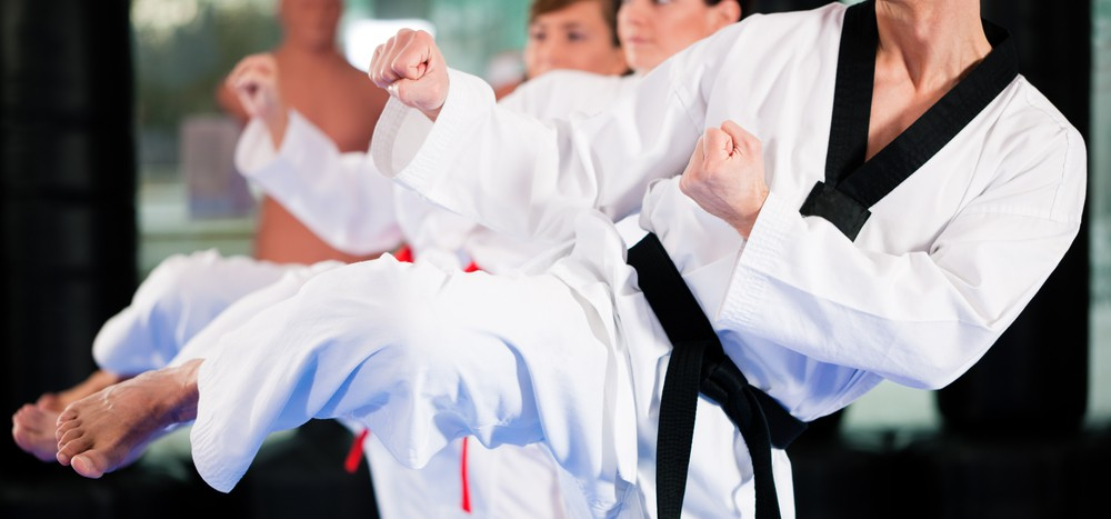martial arts and it's intensive movements like kicking and punching can make your abs well toned