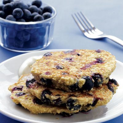 Blueberry pancakes are not just delicious, they also help burn some fat