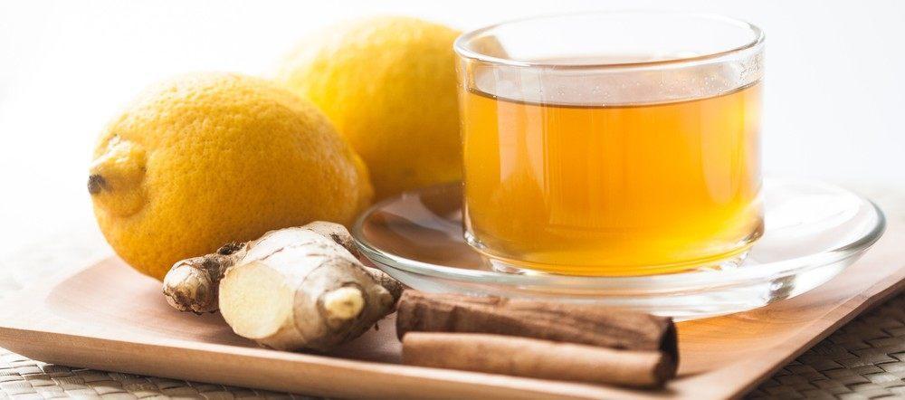 cinnamon honey ginger tea