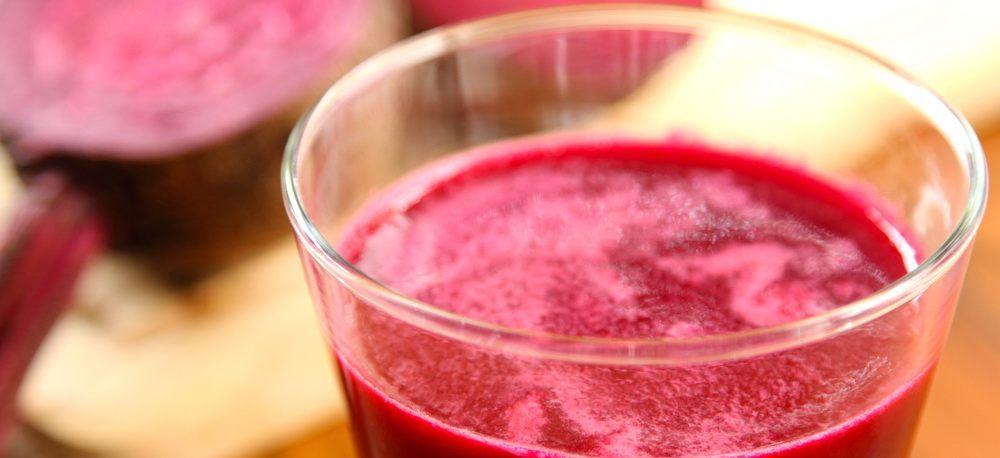 Beetroot juice liver