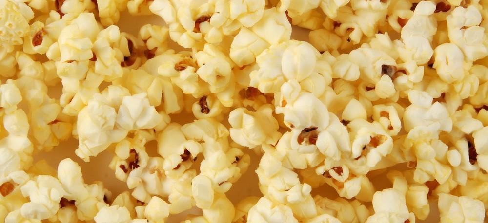 Diacetyl microwave popcorn
