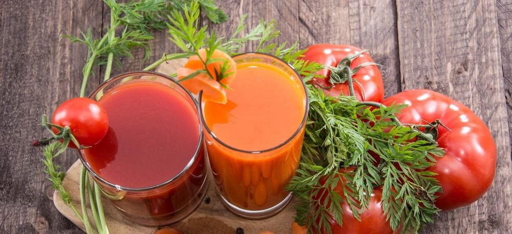 carrot and tomato juice
