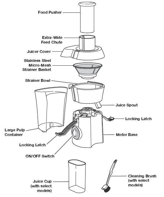 Cold Press Food Processor