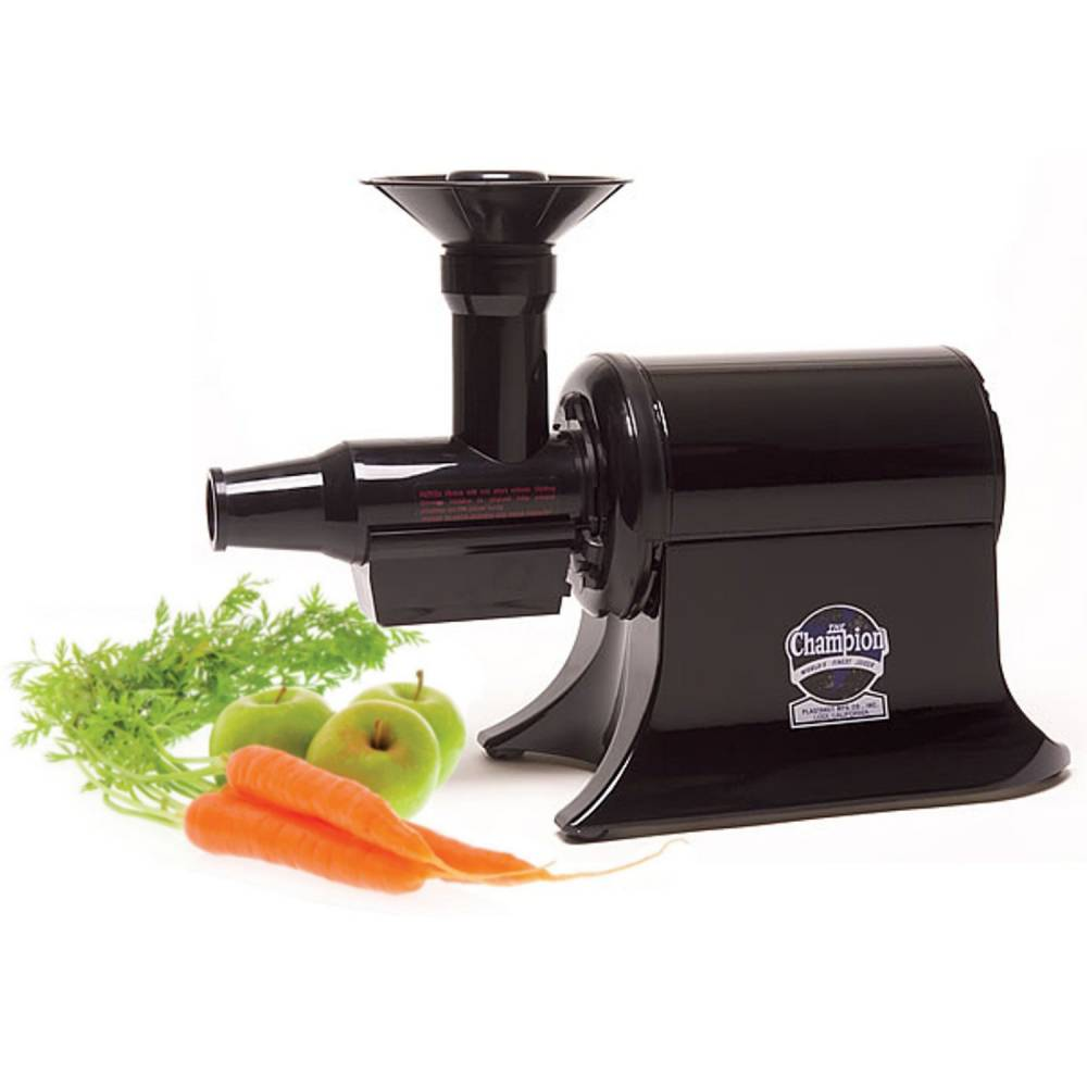 Omega j8006 nutrition center commercial masticating juicer - Champion Commercial Juicer G5 Pg 710