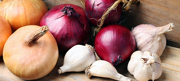 garlic onions